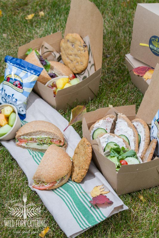 Box Lunches Anchorage Catering - Wild Fork Catering